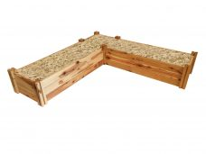 2 Heritage timber modular raised garden bed kits