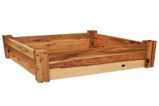 Large heritage modular raised garden bed kit