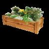 Heritage timber modular raised garden bed kit