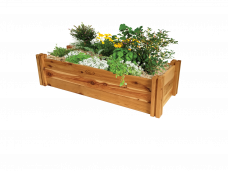 Heritage timber modular raised garden bed kit