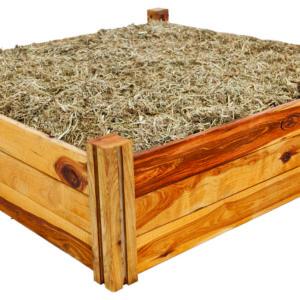Large heritage modular raised garden bed kit