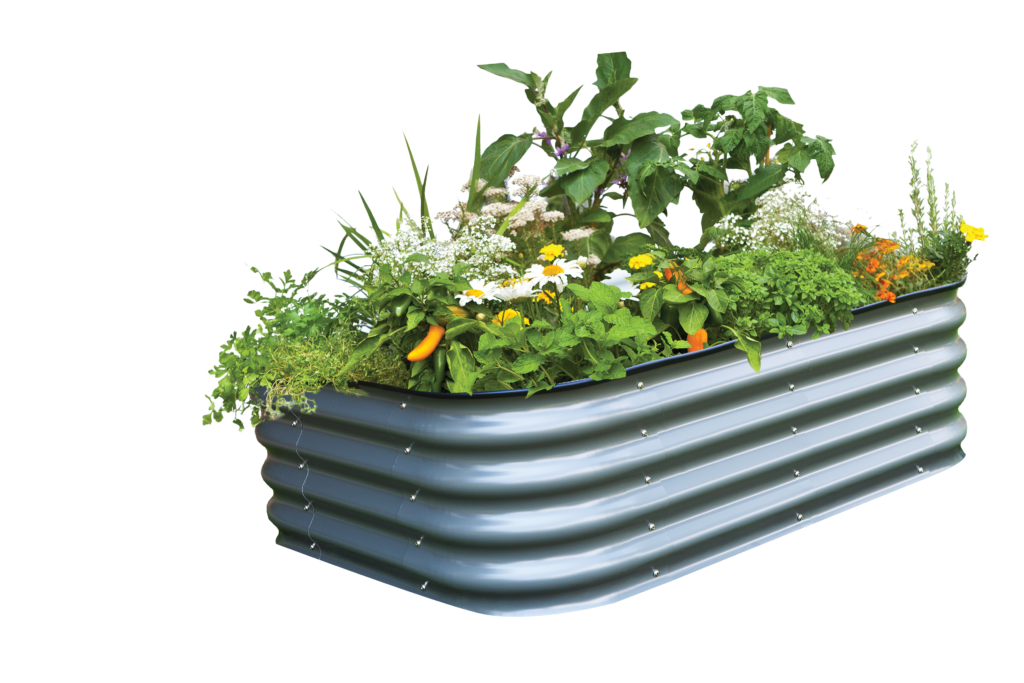 Birdies Modular raised garden bed prefect for a new veggie garden or veggie garden