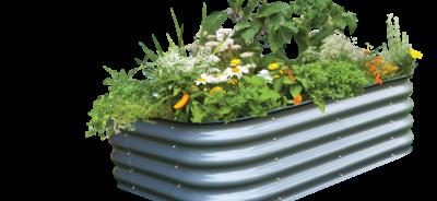 6in1 modular raised garden bed - veggie garden