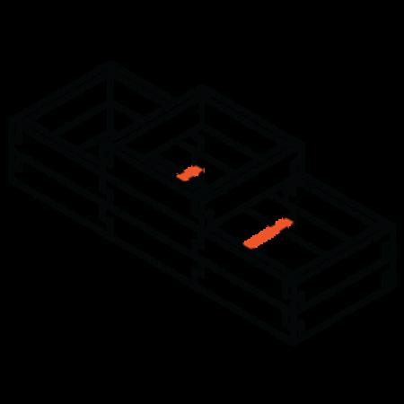Sleeper modular raised garden bed Stacka_Q_2